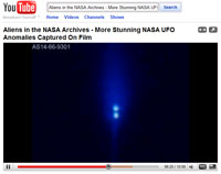 Watch on You Tube - Aliens in the NASA Archives - More Stunning NASA UFO Anomalies Captured on Film