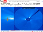 YouTube Video - UFO Shoots Lasers to the Sun
